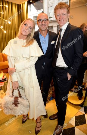 Alice Naylor-Leyland, Gianluca Longo and Umberto Macchi di Cellere