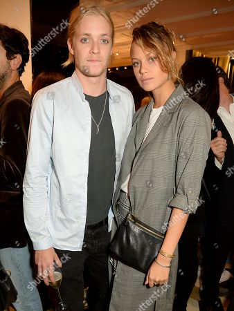 Rufus Taylor and Jessica Clarke