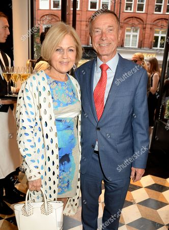 Gillian de Bono with husband