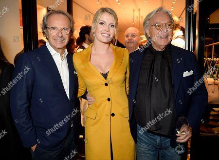 Andrea della Valle, Lady Kitty Spencer and Diego Della Valle