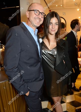 Gianluca Longo and Julia Restoin-Roitfeld