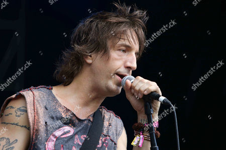 Stock Picture of Joseph Arthur with Arthur Buck performs during Music MidTown 2018 at Piedmont Park, in Atlanta