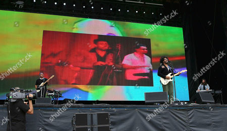 Twin Shadow, George Lewis Jr. Twin Shadow performs during Music MidTown 2018 at Piedmont Park, in Atlanta