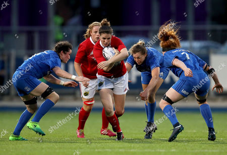 Editorial photo of Women's Interprovincial, Energia Park, Donnybrook, Dublin  - 15 Sep 2018