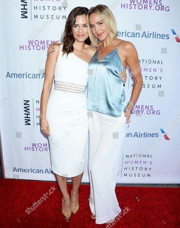 Torrey DeVito and Arielle Kebbel