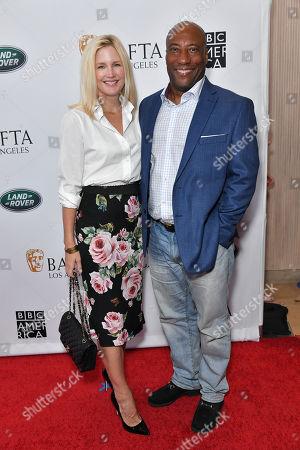 Jennifer Lucas and Byron Allen