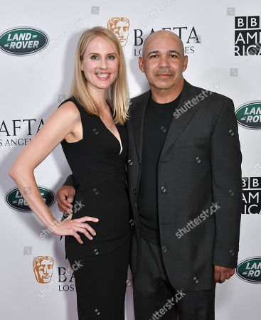 Stock Picture of Kelley Flynn and Eddie Perez