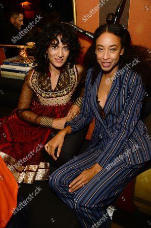 Stock Photo of Anoushka Shankar and Corinne Bailey Rae