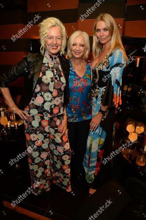 Stock Photo of Ellen Von Unwerth, Mary Greenwell and Jodie Kidd
