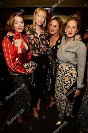 Jasmine Guinness, Jade Parfitt, Alice Temperley and Violet Von Westenholz
