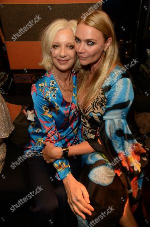 Mary Greenwell and Jodie Kidd