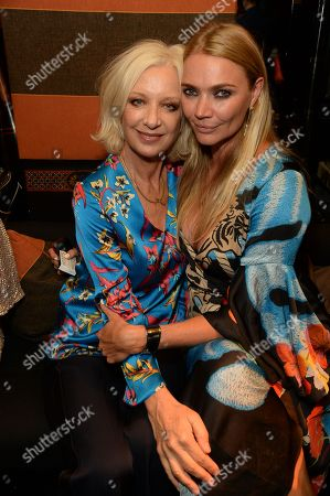 Stock Image of Mary Greenwell and Jodie Kidd