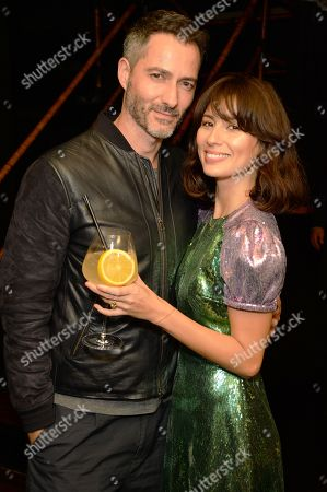 Stock Picture of Nick Hopper and Jasmine Hemsley