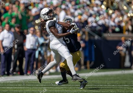 Editorial photo of NCAA Football Vanderbilt vs Notre Dame, USA - 15 Sep 2018