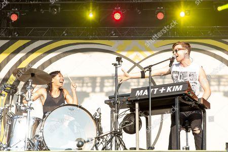 Stock Image of Matt and Kim - Kim Schifino and Matt Johnson