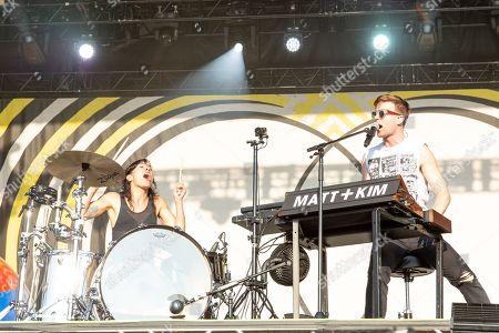 Matt and Kim - Kim Schifino and Matt Johnson