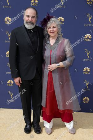 Stock Image of Mandy Patinkin and Kathryn Grody