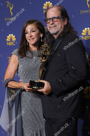 Glenn Weiss - Outstanding Directing for a Variety Special - 'The Oscars'. He proposed to girlfriend Jan Svendsen during his acceptance speech