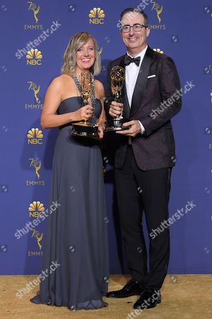 Editorial picture of 70th Primetime Emmy Awards, Press Room, Los Angeles, USA - 17 Sep 2018