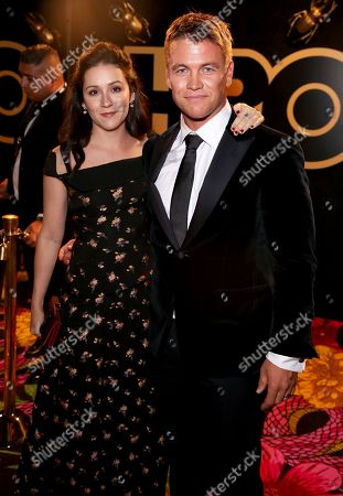 Stock Photo of Shannon Marie Woodward and Luke Hemsworth