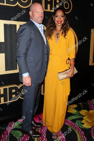 Kevin Wright and Gina Torres