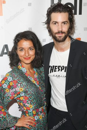 Jim Sturgess and guest
