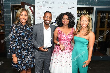 Marti Hines, Melvin Jackson Jr., Kelly Jenrette, Lola Wood. Marti Hines, 2018 honorees Melvin Jackson Jr. and Kelly Jenrette, and Lola Wood attend the WanderLuxxe Celebrates Diversity in Television Honoring 2018 Emmy Nominees with Variety at Craig's on in West Hollywood, Calif