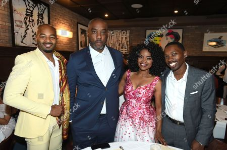 Brandon Dixon, Mike Jackson, Kelly Jenrette, Melvin Jackson Jr. Brandon Dixon, Mike Jackson, Kelly Jenrette and Melvin Jackson Jr. attend the WanderLuxxe Celebrates Diversity in Television Honoring 2018 Emmy Nominees with Variety at Craig's on in West Hollywood, Calif