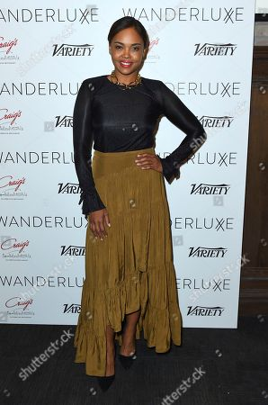 Sharon Leal attends the WanderLuxxe Celebrates Diversity in Television Honoring 2018 Emmy Nominees with Variety at Craig's on in West Hollywood, Calif