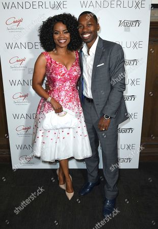 Marti Hines, Melvin Jackson Jr. 2018 honorees Melvin Jackson Jr. and Kelly Jenrette attend the WanderLuxxe Celebrates Diversity in Television Honoring 2018 Emmy Nominees with Variety at Craig's on in West Hollywood, Calif