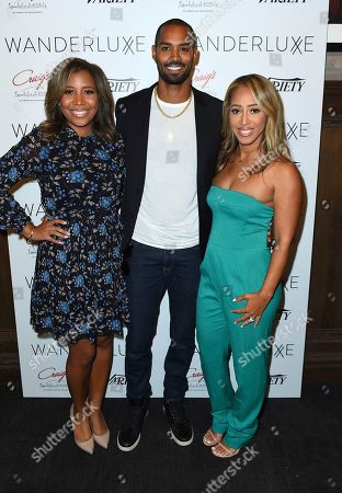 Marti Hines, Lamon Archey, Lola Wood. Marti Hines, Lamon Archey and Lola Wood attend the WanderLuxxe Celebrates Diversity in Television Honoring 2018 Emmy Nominees with Variety at Craig's on in West Hollywood, Calif