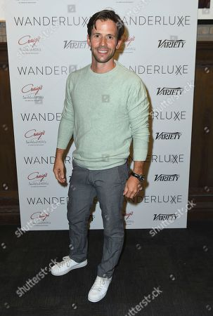 Christian Oliver attends the WanderLuxxe Celebrates Diversity in Television Honoring 2018 Emmy Nominees with Variety at Craig's on in West Hollywood, Calif