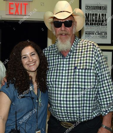 Abi Tapia Country Music Hall of Fame and Museum and Singer/Songwriter Ray Benson of Asleep at the Wheel