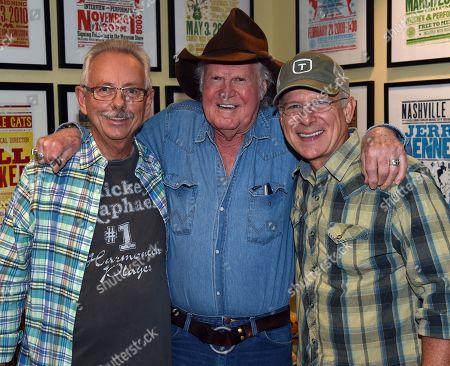 Producer Buddy Cannon, Singer/Songwriter Billy Joe Shaver and Songwriter Allen Shamblin