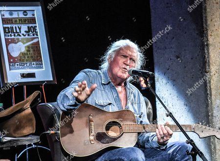 Stock Picture of Singer/Songwriter Billy Joe Shaver