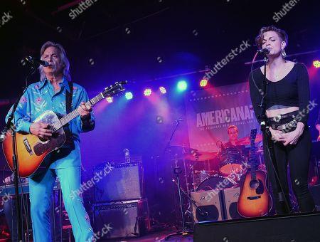 Singer/Songwriters Jim Lauderdale and Lizzie Mae