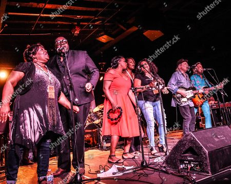 Singer/Songwriter Buddy Miller is joined on stage by The McCrary Sisters, Jim Lauderdale, Lizzie Mae and The War and Treaty