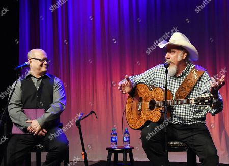 Michael McCall - Country Music Hall of Fame and Museum Curator and Singer/Songwriter Ray Benson of Asleep at the Wheel