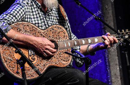 Custom Guitar belonging to Ray Benson of Asleep at the Wheel