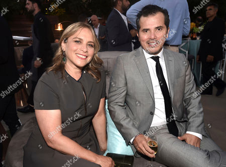 Justine Maurer, John Leguizamo. Justine Maurer, left, and John Leguizamo attend the 2018 Performers Nominee Reception presented by the Television Academy at the Wallis Annenberg Center for the Performing Arts, in Beverly Hills, Calif