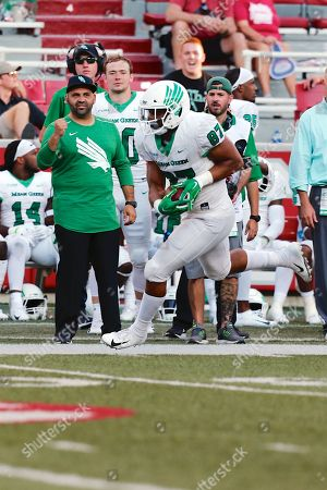 Editorial photo of NCAA Football 2018 North Texas vs Arkansas, Fayetteville, USA - 15 Sep 2018