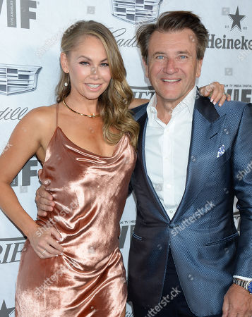 Kym Johnson and husband Robert Herjavec