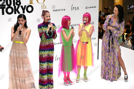 Editorial picture of Vogue Fashion's Night Out 2018, Tokyo, Japan - 15 Sep 2018