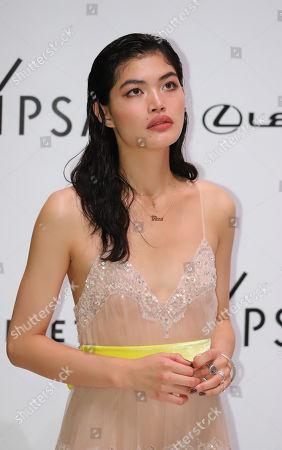 Japanese model Rina Fukushi