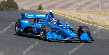 Sonoma, CA, U.S.A : Chip Ganassi Racing driver Ed Jones (10) of United Arab Emirates coming out of turn 5 during the GoPro Grand Prix of Sonoma Verizon Indycar practice at Sonoma Raceway Sonoma, CA Thurman James / CSM