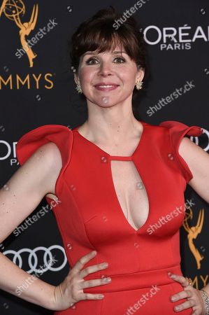 Audrey Moore attends the Television Academy Performers Nominee Reception at the Wallis Annenberg Center for the Performing Arts, in Beverly Hills, Calif