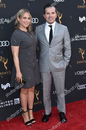 Justine Maurer, John Leguizamo. Justine Maurer, left, and John Leguizamo attend the Television Academy Performers Nominee Reception at the Wallis Annenberg Center for the Performing Arts, in Beverly Hills, Calif