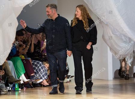 Stock Picture of Justin Thornton and Thea Bregazzi