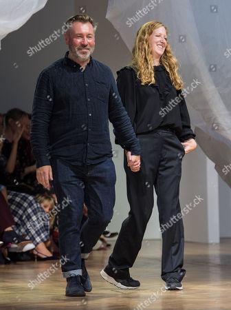 Editorial image of Preen by Thornton Bregazzi show, Runway, Spring Summer 2019, London Fashion Week, UK - 16 Sep 2018
