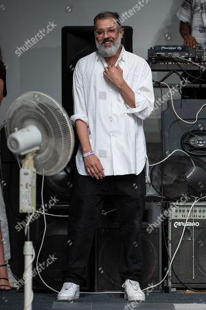 Ashish Gupta on the catwalk